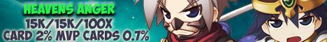 Heavens Anger Ragnarok Online Server Banner