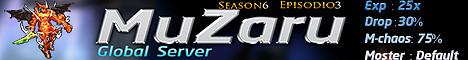 MuZaru Global server Banner