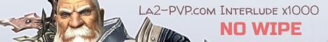 La2-PVP.com Interlude PVP x1000 Banner