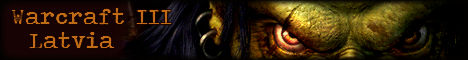 Latvian Warcraft III Community Banner