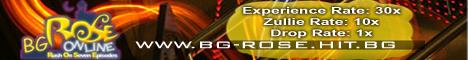 BG-Rose Online Game Banner