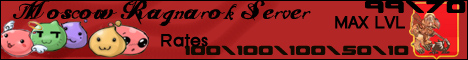 Moscow Ragnarok Server Banner