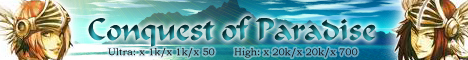 Conquest of Paradise Banner