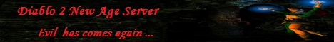 New Age Diablo II Server Banner