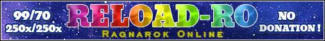 Reload Ragnarok Online 2018 Banner