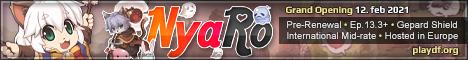 NyaRO 2021 - playdf.org Banner